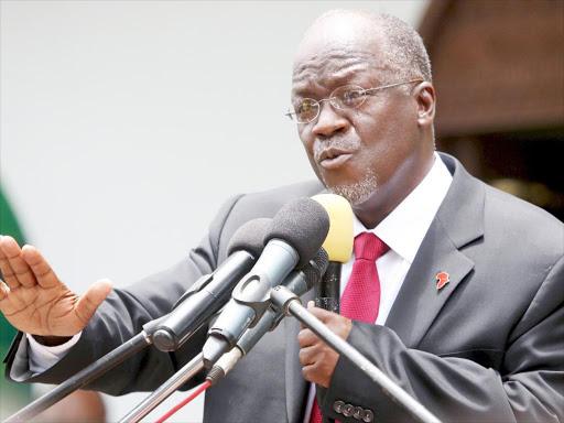 President Pombe Magufuli