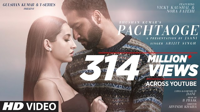 Pachtaoge Lyrics - Arijit Singh | Jaani,B Praak | LYRICS HOTEL