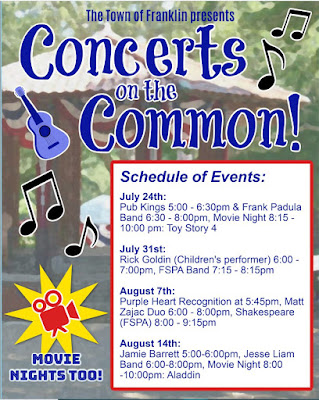 Concerts on the Common: Friday, July 24