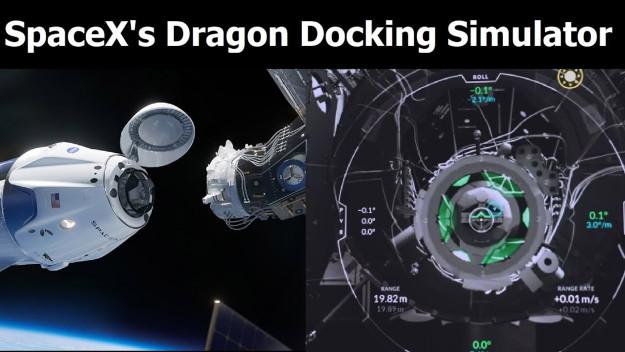 Space X Docking Sim - Εσύ θα καταφέρεις να συνδέσεις το Dragon 2 στον Διεθνή Διαστημικό Σταθμό;