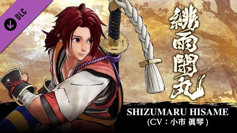 samurai shodown 2019 free dlc character shizumaru hisame ps4 xb1 snk
