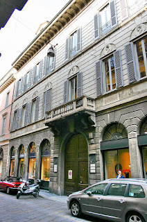 Beccaria was born in this palace in the Via Brera in central Milan