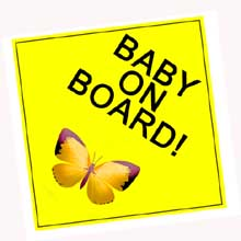 Baby On Board Car Sign In Port Harcourt, Nigeria