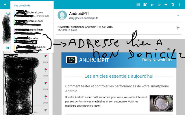 Comment envoyer un SMS à partir d'une <b>boite</b> <b>mail</b>