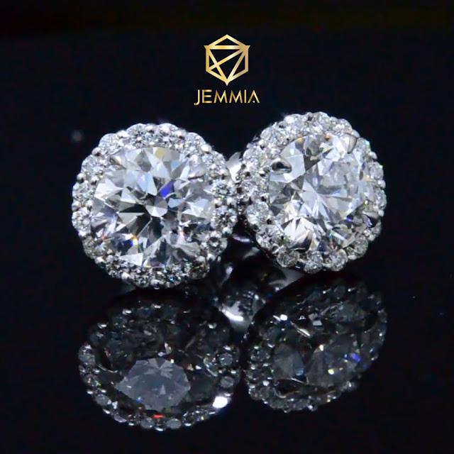 Trang sức kim cương được chế tác công phu
