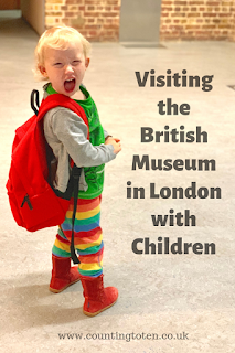 All about what there is to do on a free day out in London at the British Museum with Children