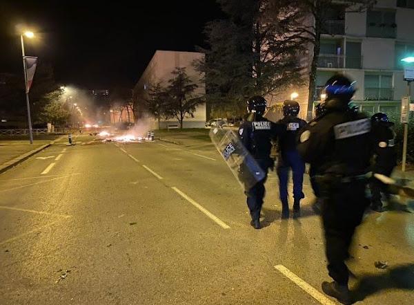 VIDÉO : nouvelle flambée de violences nocturnes à Oyonnax (Ain 01)