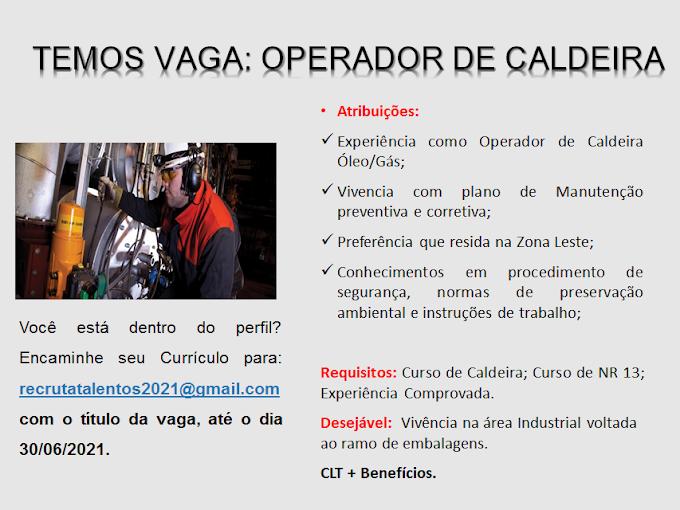 OPERADOR DE CALDEIRA