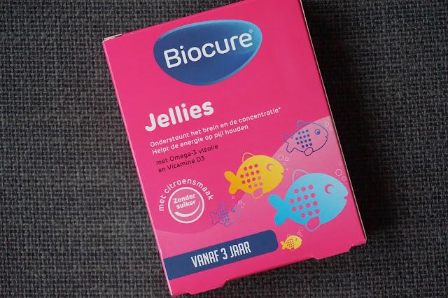 biocure jellies omega 3 visolie vitamine d