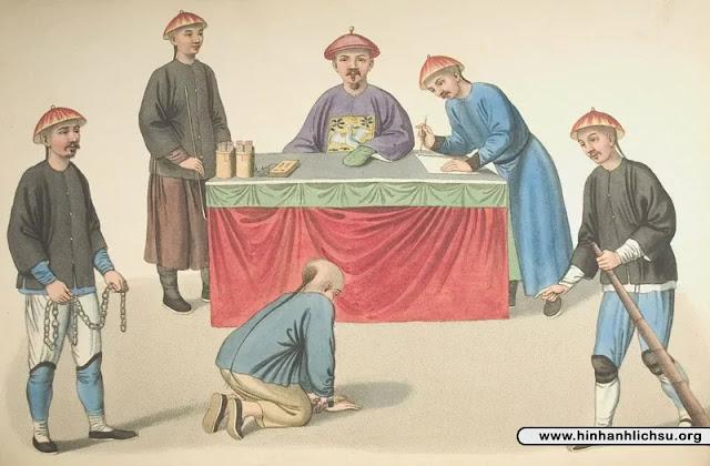 Các hình phạt tra tấn dưới triều đại nhà Thanh