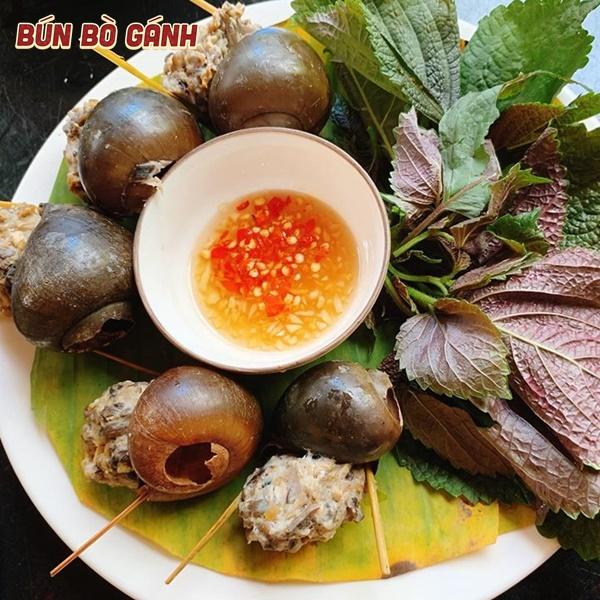 Ốc Bươu Nhồi Thịt - Snails Stuffed With Minced Pork