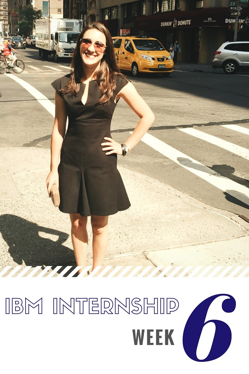 IBM Sales Internship Week 6