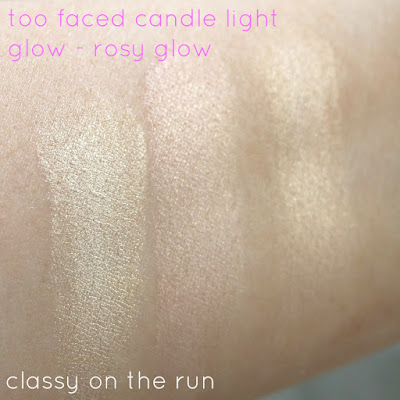 Too Faced Candlelight Glow Highlighting Powder Duo in Rosy Glow