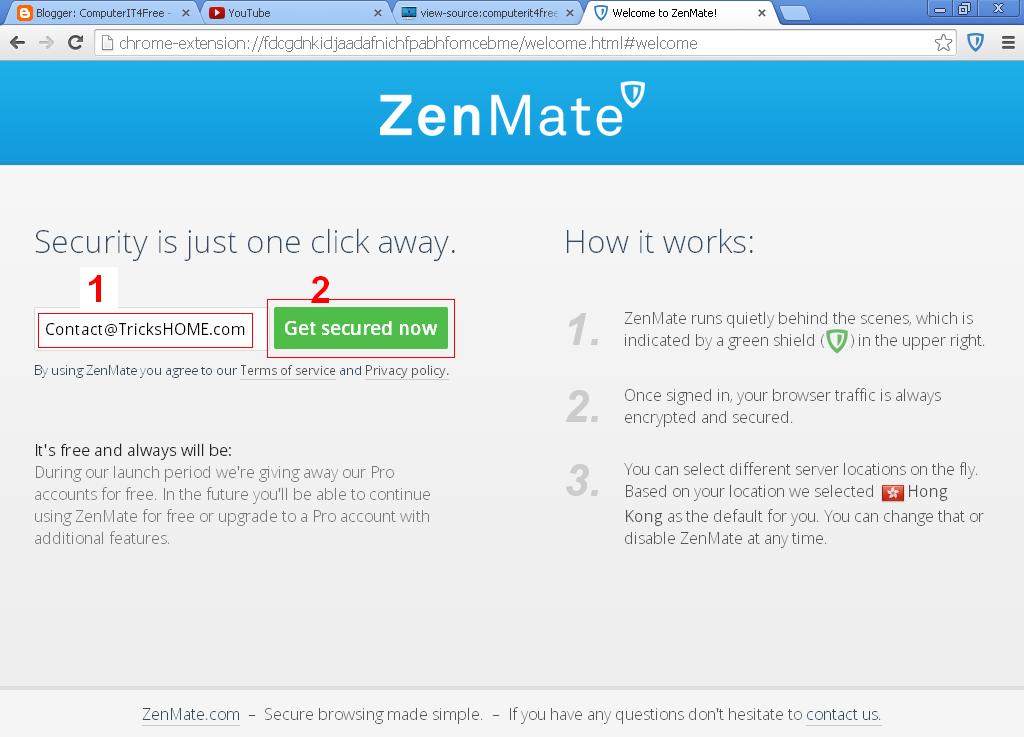 Open blocked sites