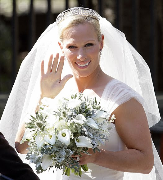 Zara Phillips wedding tiara