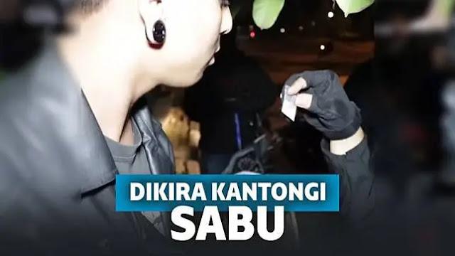 "Video Pria Terciduk Polisi ""Sok"" Bawa Narkoba Padahal Garam"