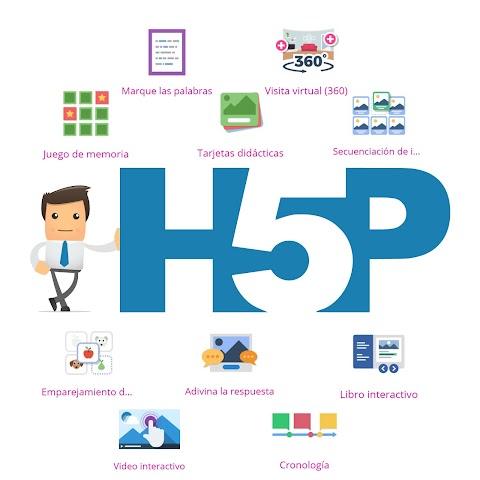 Crea actividades interactivas impresionantes con H5P