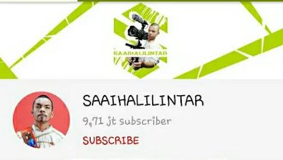 Saai Halilintar - YouTubers Indonesia