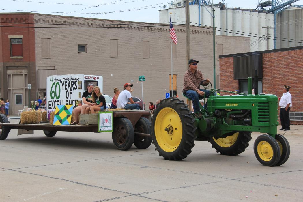 Uncle Bob Drives A Combine U • B • D • A • C The Farmer's Almanac