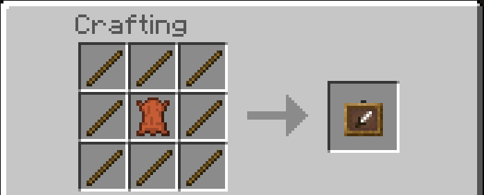 How Do You Make A Item Frame Mine Craft