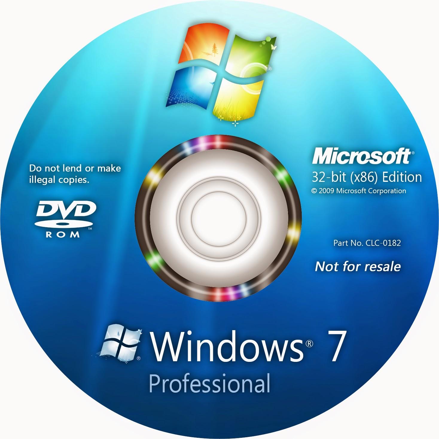 microsoft windows seven iso