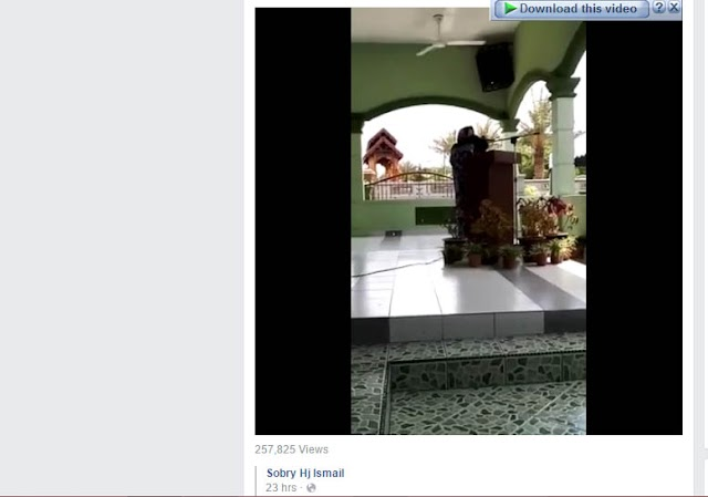 VIDEO GURU AL-QURAN MENINGGAL DUNIA KETIKA BACA DOA !