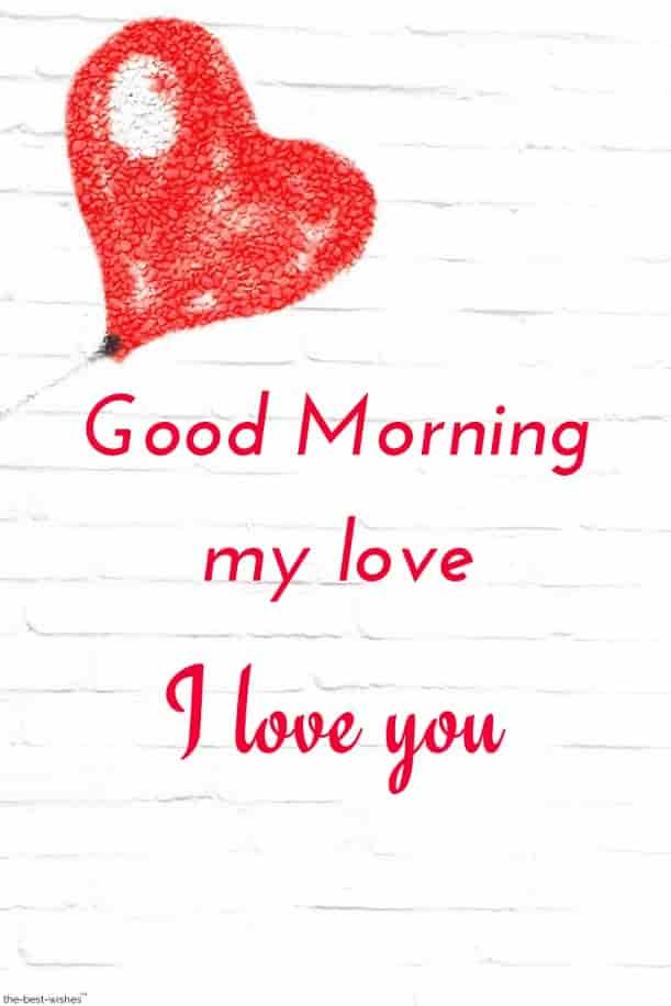 good morning my love i love you picture
