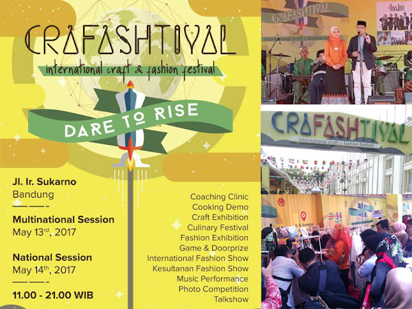Crafashtival Bandung 13-14 Mei 2017