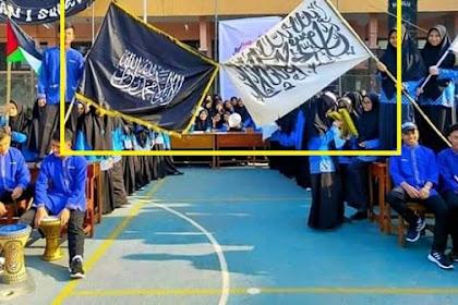 MAN 1 Sukabumi Angkat Bicara soal Siswa Kibarkan Bendera Tulisan Tauhid