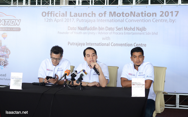 Press Conference in progress