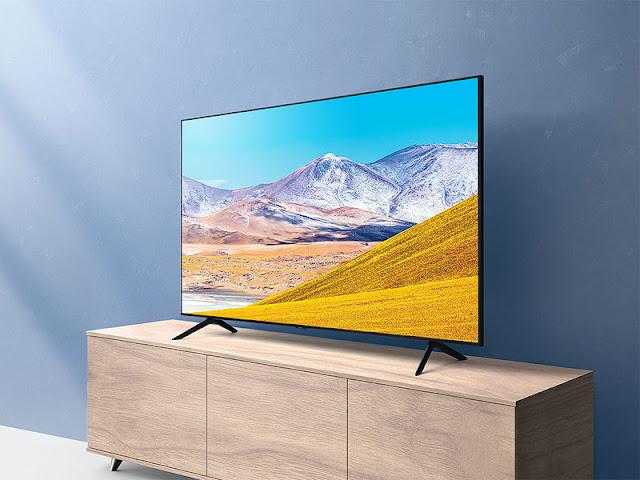 SAMSUNG 65-inch Class Crystal UHD TU-8000 Series - 4K UHD HDR Smart TV