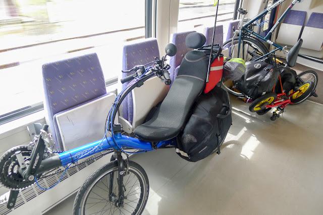 De Paris à Angers par la Loire à vélo, en train