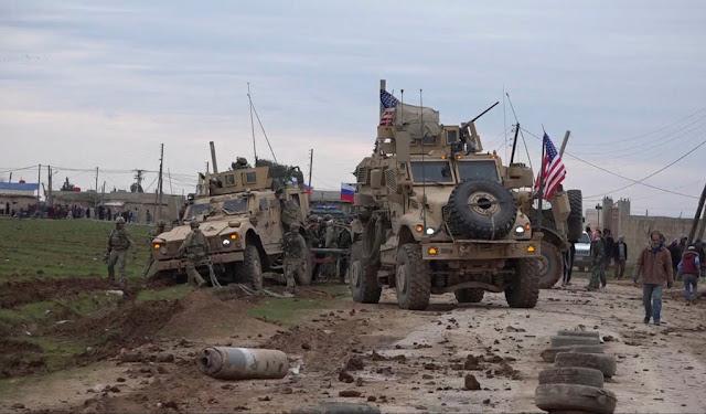 الروس يضغطون على القوات الأمريكية في شمال شرق سوريا