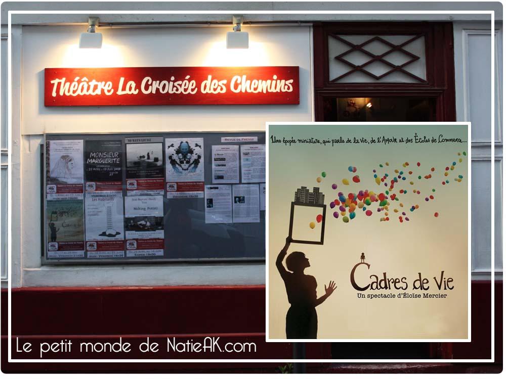 Théâtre paris La croisée des chemins