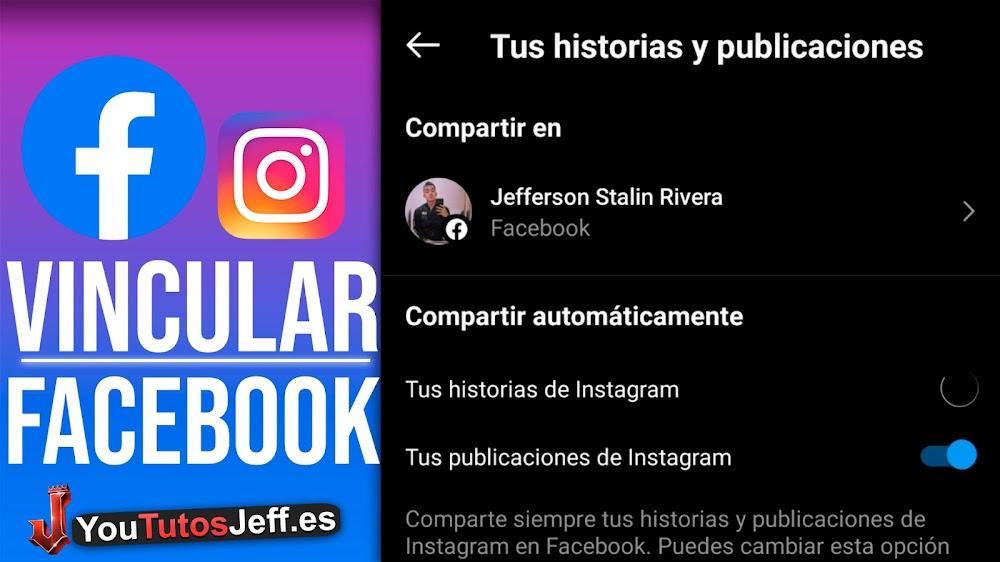 Como VINCULAR FACEBOOK con Instagram