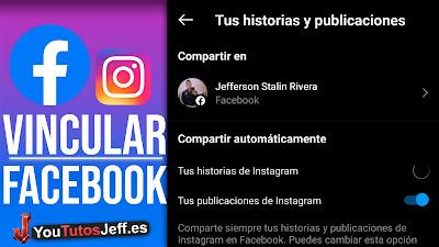 vincular facebook con instagram
