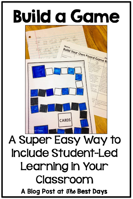 Build a Game for Student-Led Learning