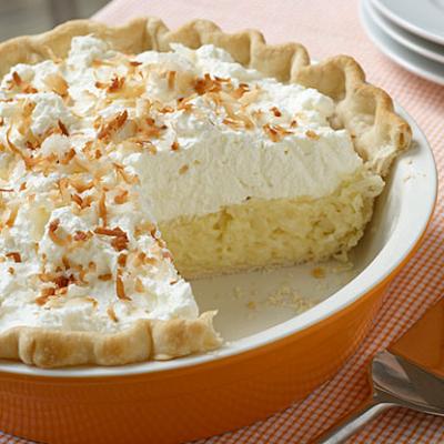 Recipe For Coconut Cream Pie