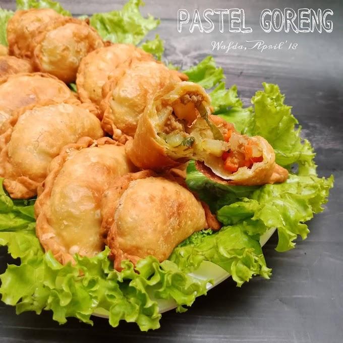 Resep Pastel Goreng Isi Sayur Daging Komplit ala Dapurwafda