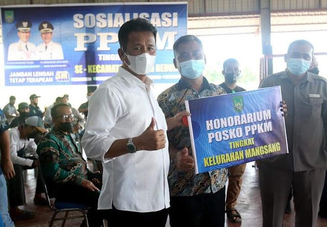 Rudi Minta Pengurus PPKM Tingkat RT RW Sosialisasikan ke Masyarakat Upaya Memutus Penularan Covid-19