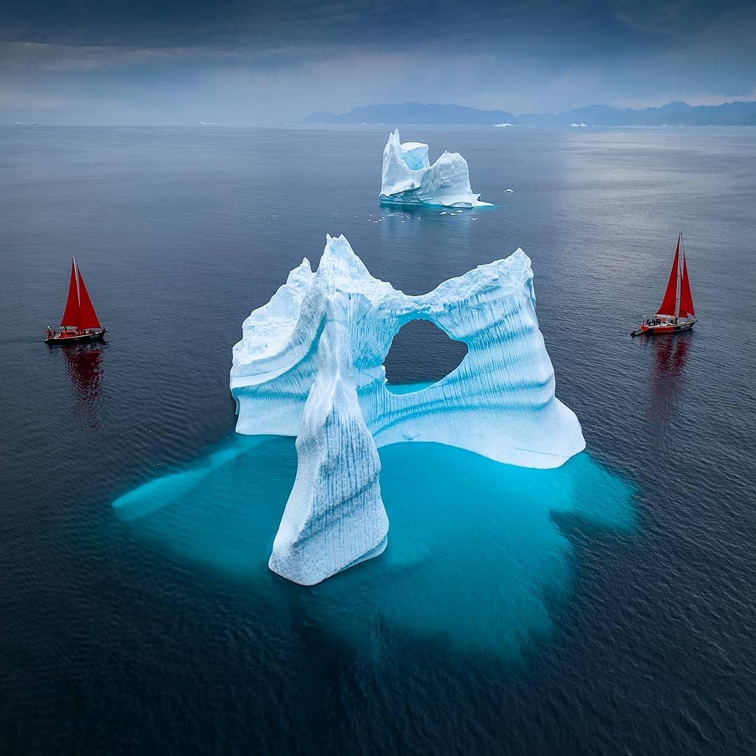 Удивительные Фото Исчезающих Айсбергов