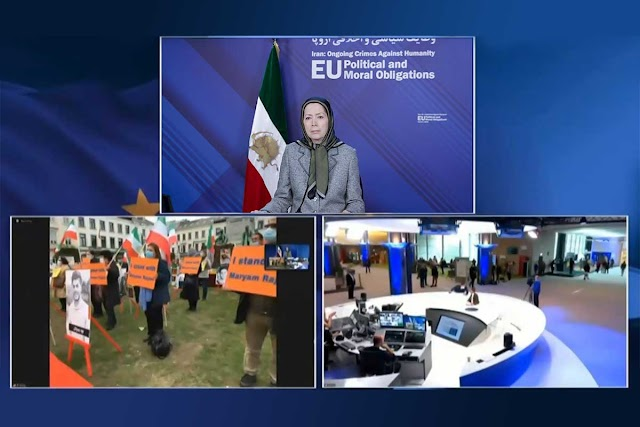 Maryam Rajavi: EU Political and Moral Obligations