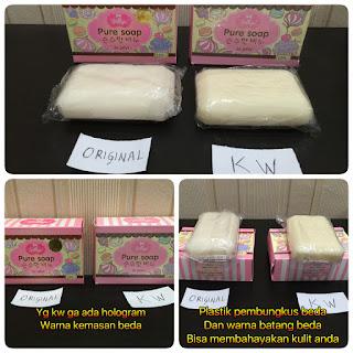 Perbedaan Sabun Beras Thailand Asli Dan Palsu Tips Membedakan