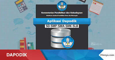 Cara Registrasi Online & Offline Dapodik V 2016 SD,SMP,SMA,SMK,SLB