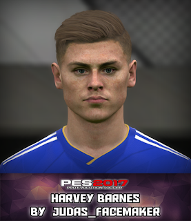 PES 2017 Faces Harves Barnes by Judas