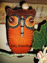 BROWN WOOL OWL