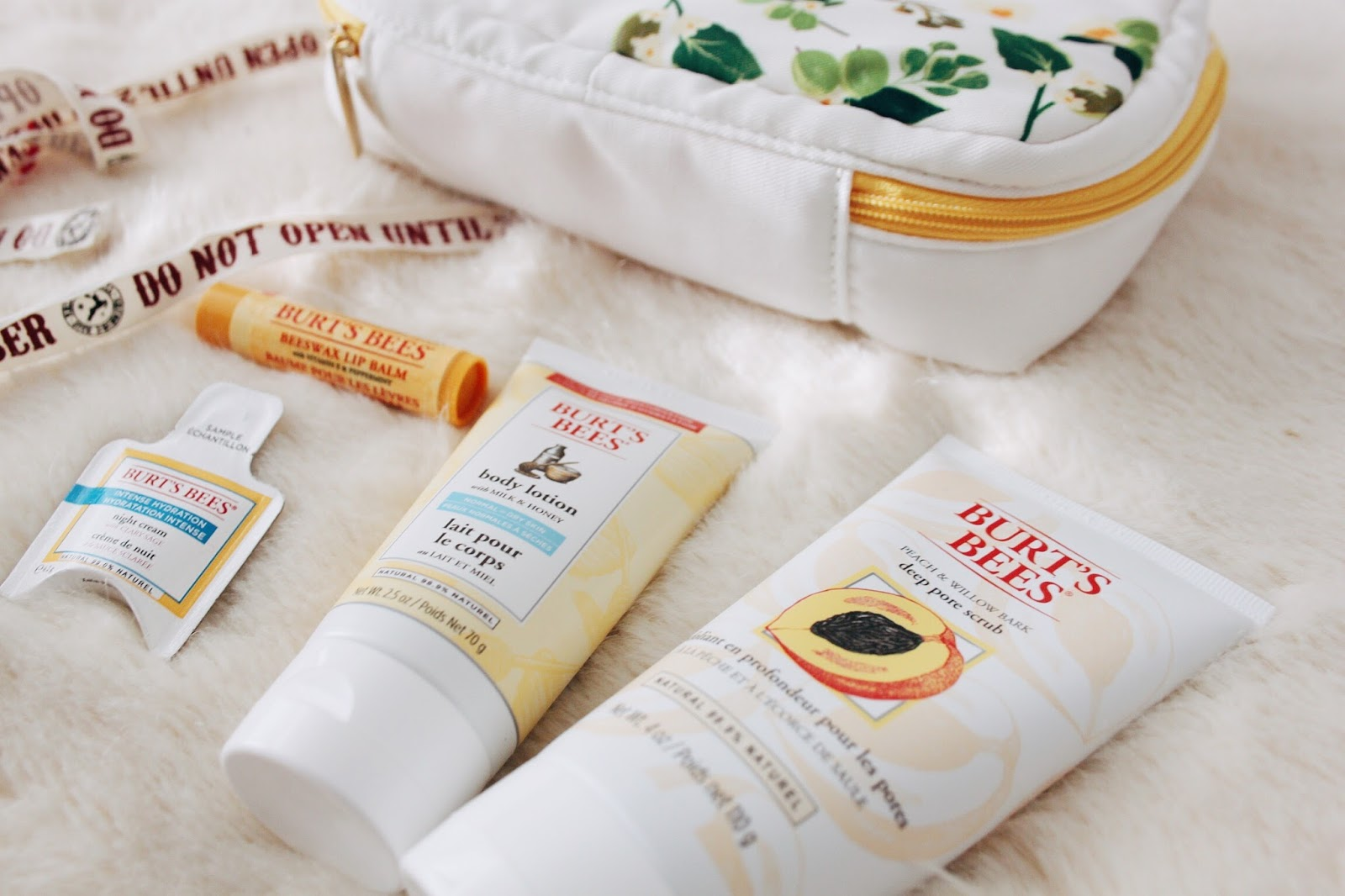 burts bees treat christmas gift