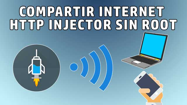Compartir internet de HTTP Injector