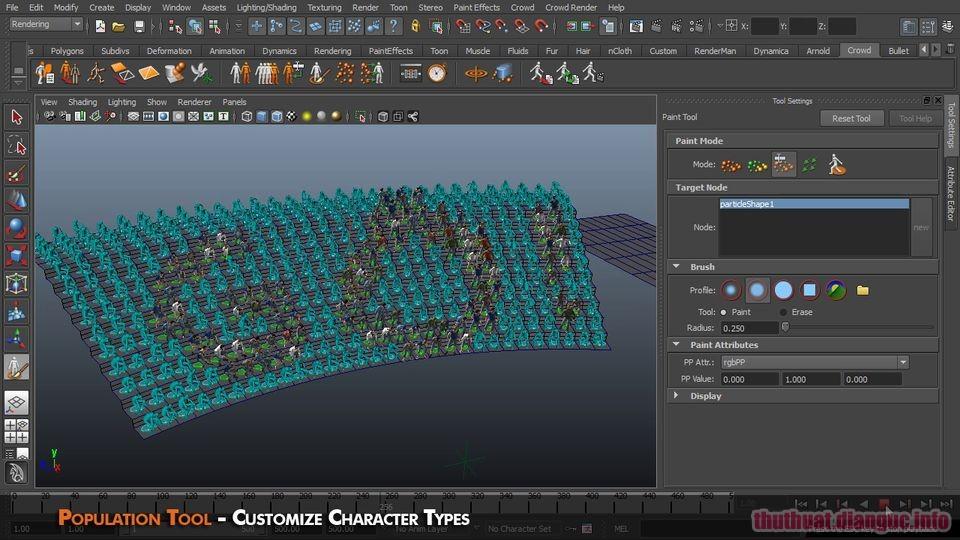 Download Golaem Crowd 7.0.1 for Maya Full Crack