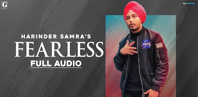 Fearless Lyrics - Harinder Samra
